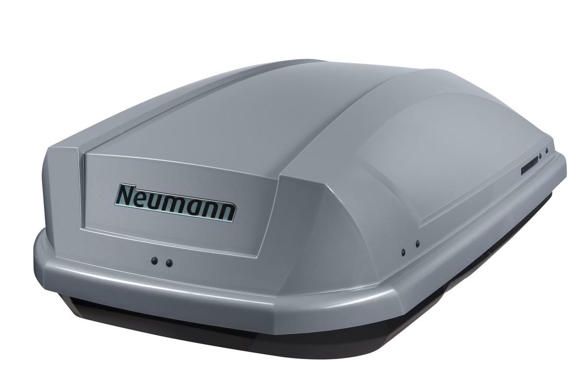 Střešní box Neumann Adventure 130 stříbrný