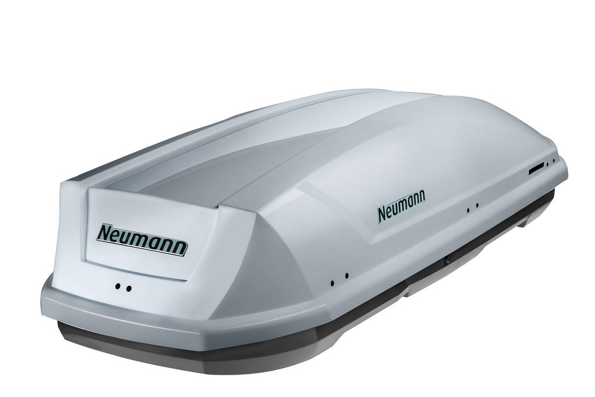 Střešní box Neumann Adventure 190 stříbrný