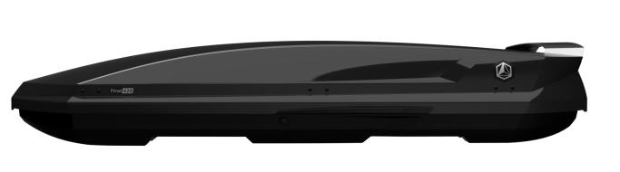 Střešní box Northline Tirol 420 Wing černý