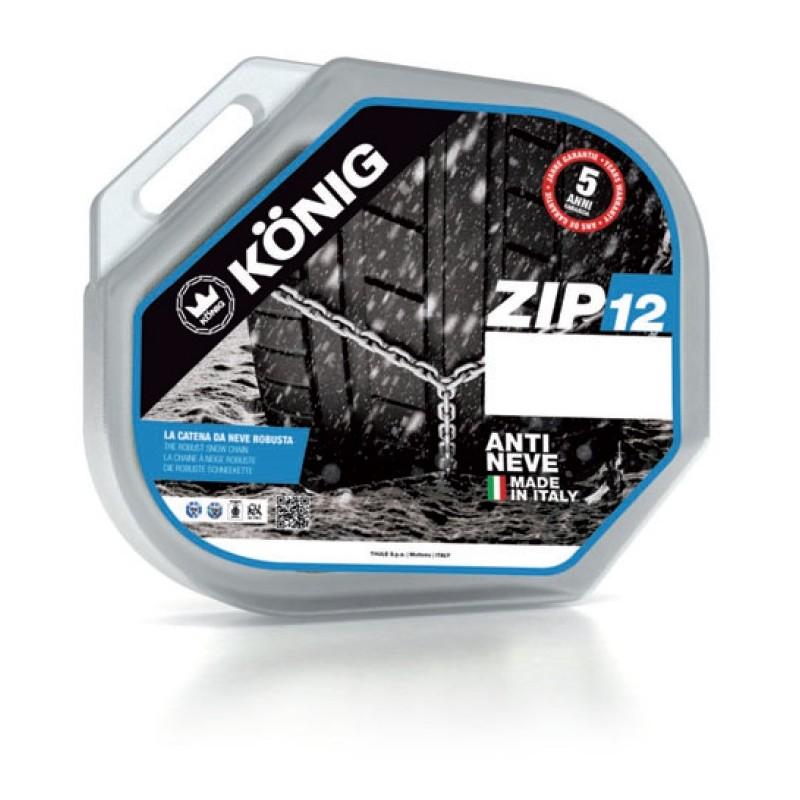 Sněhové řetězy König ZIP-12 rozměr 080