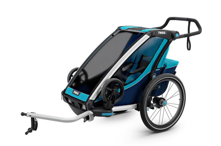 Vozík za kolo Thule Chariot Cross 1 Thule Blue/Poseidon