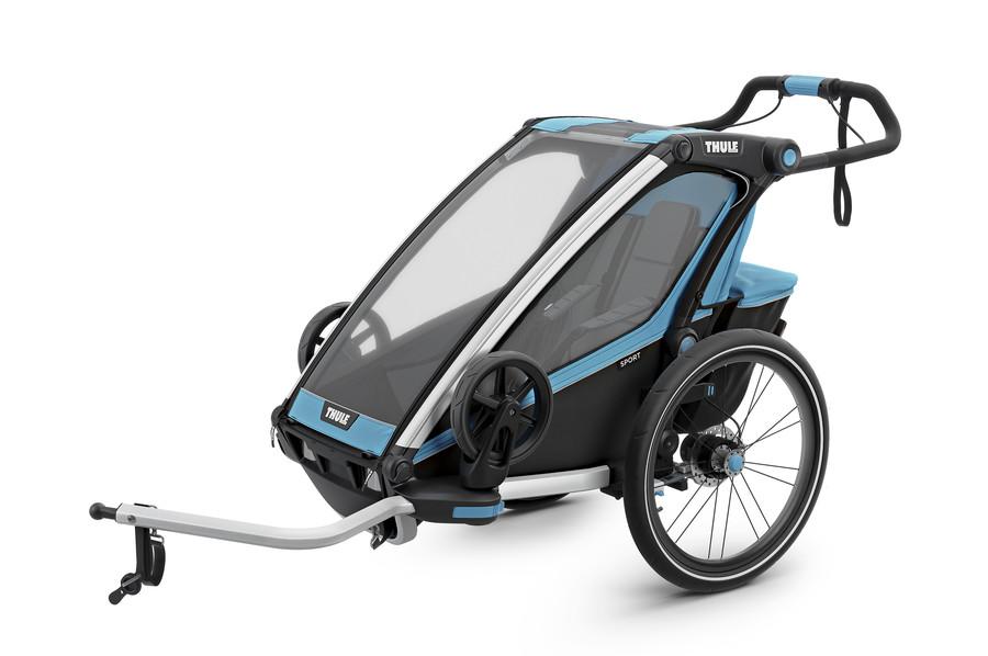 Vozík za kolo Thule Chariot Sport 1 Thule Blue/Black