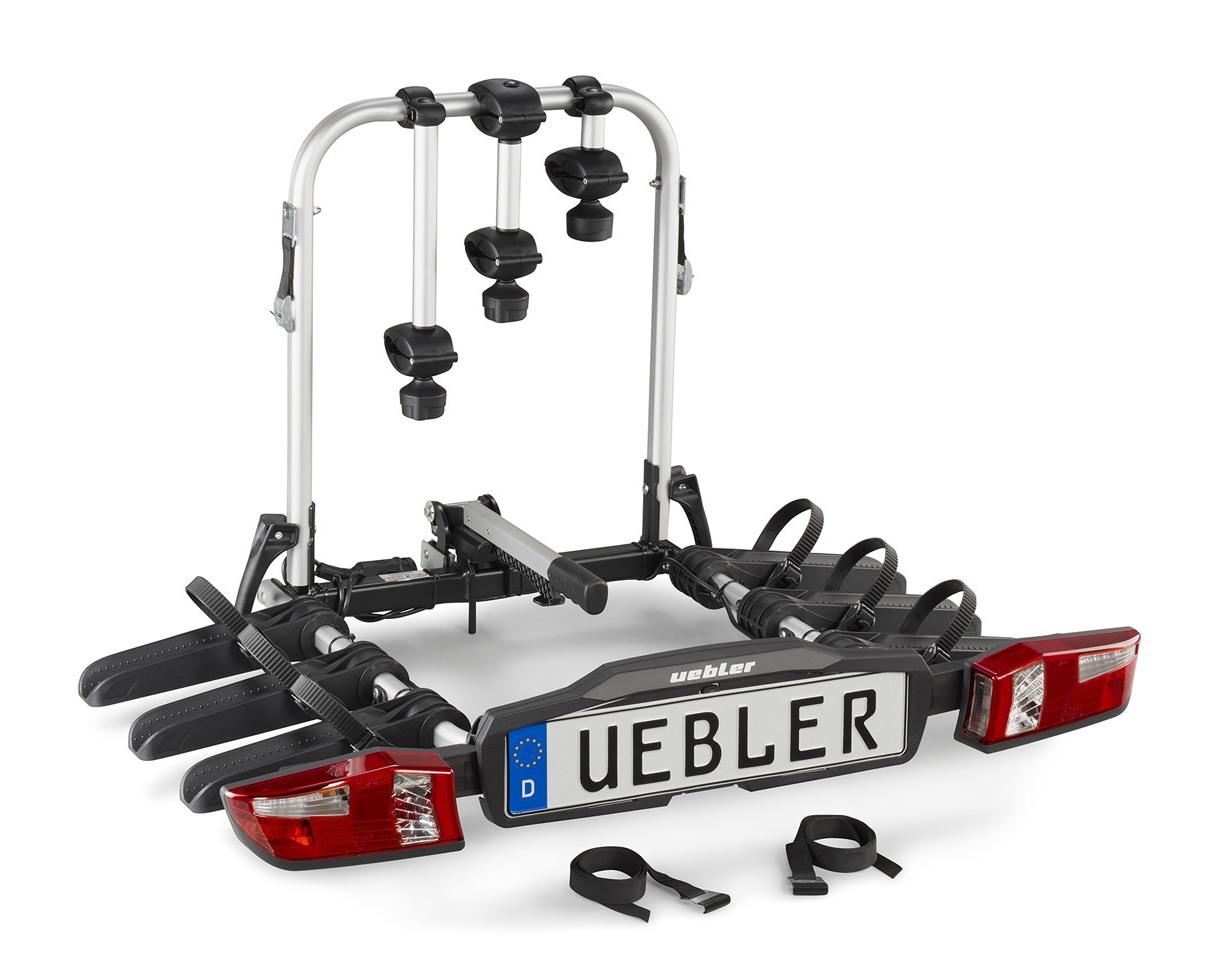 Nosič kol na tažné zařízení Uebler F32 XL - 3 kola nesklopný