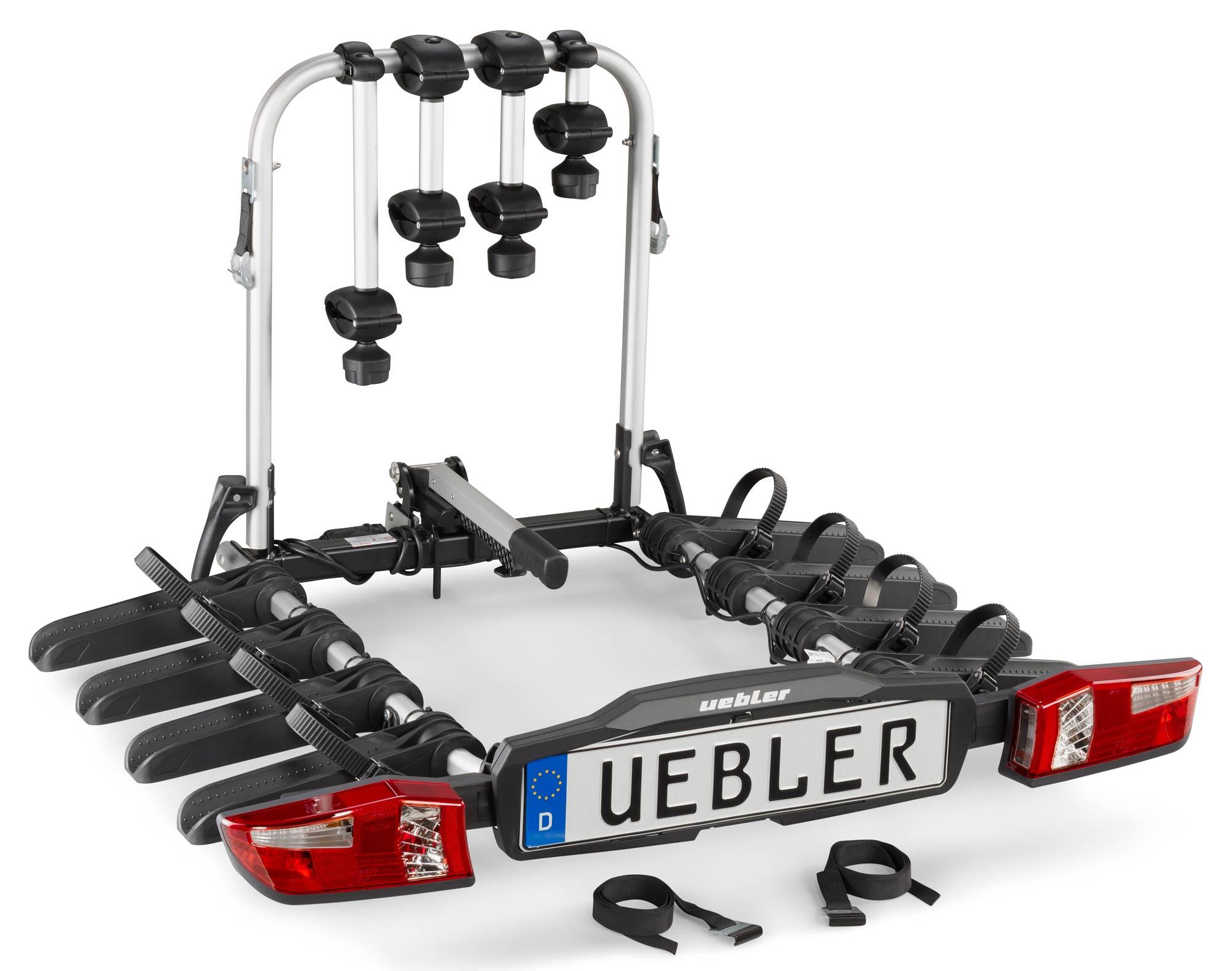 Nosič kol na tažné zařízení Uebler F42 - 4 kola nesklopný