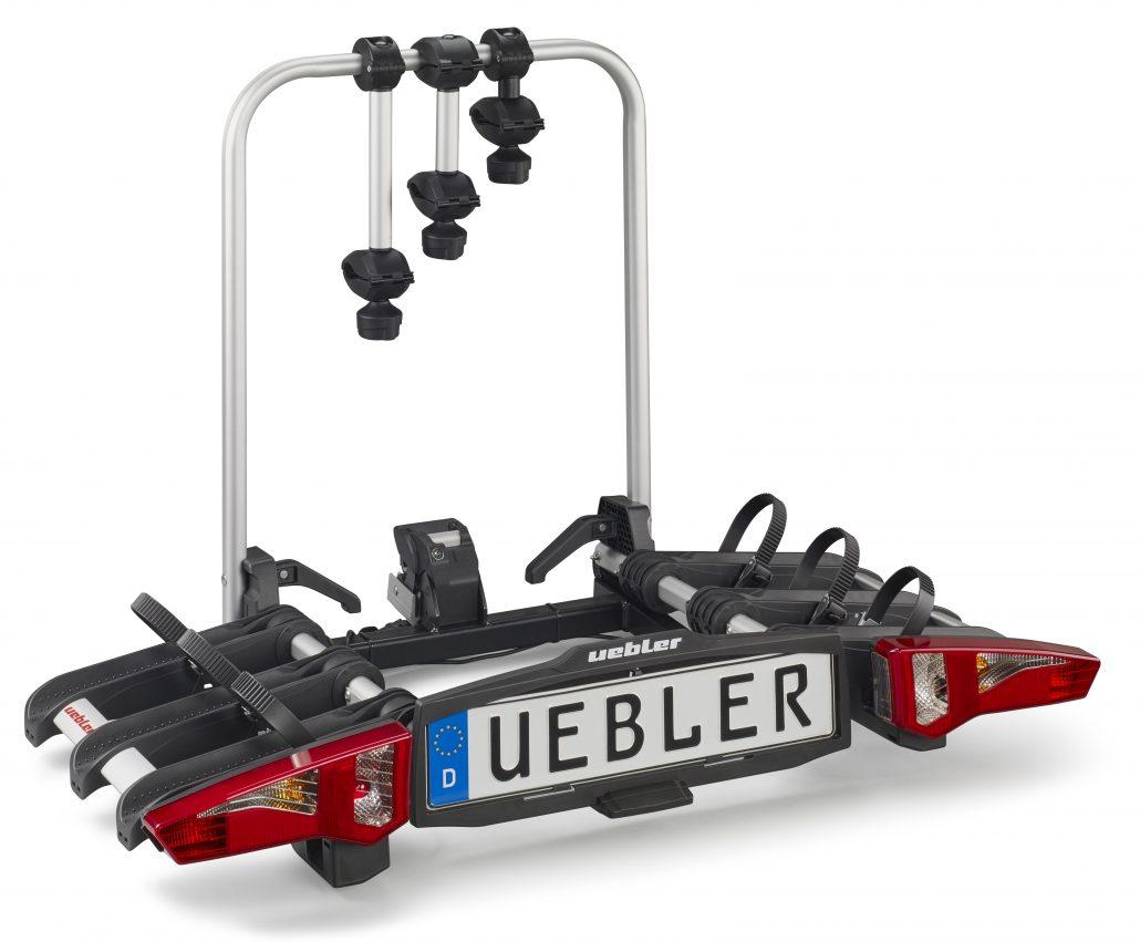 Nosič kol na tažné zařízení Uebler i31 - 3 kola skládací