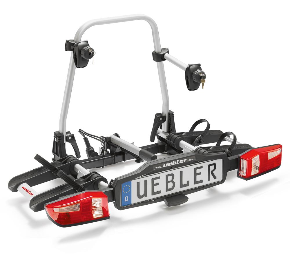 Nosič kol na tažné zařízení Uebler X21 S - 2 kola skládací