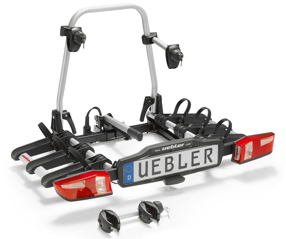 Nosič kol na tažné zařízení Uebler X31 S - 3 kola skládací